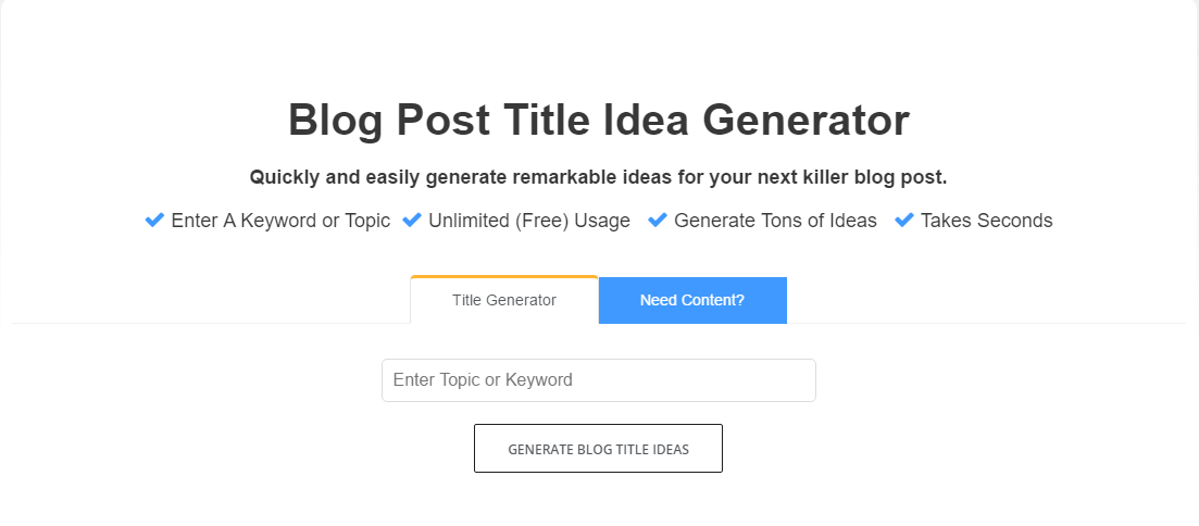 fat joe's blog post title idea generator