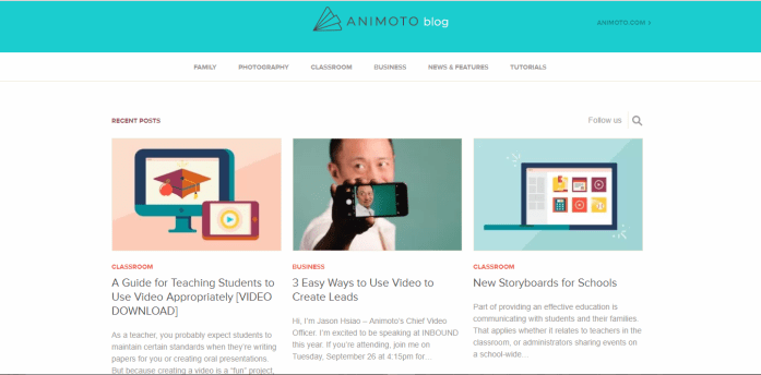 Animoto Blog