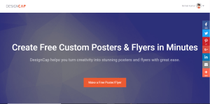 DesignCap Review: Create free Posters and Flyers online 1