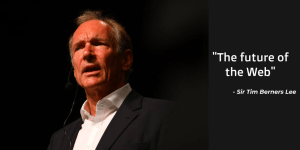 """""""The future of the Web"""" according to Tim Berners Lee"""