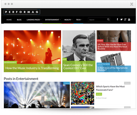 Buy Thrive Perfomag theme for $49