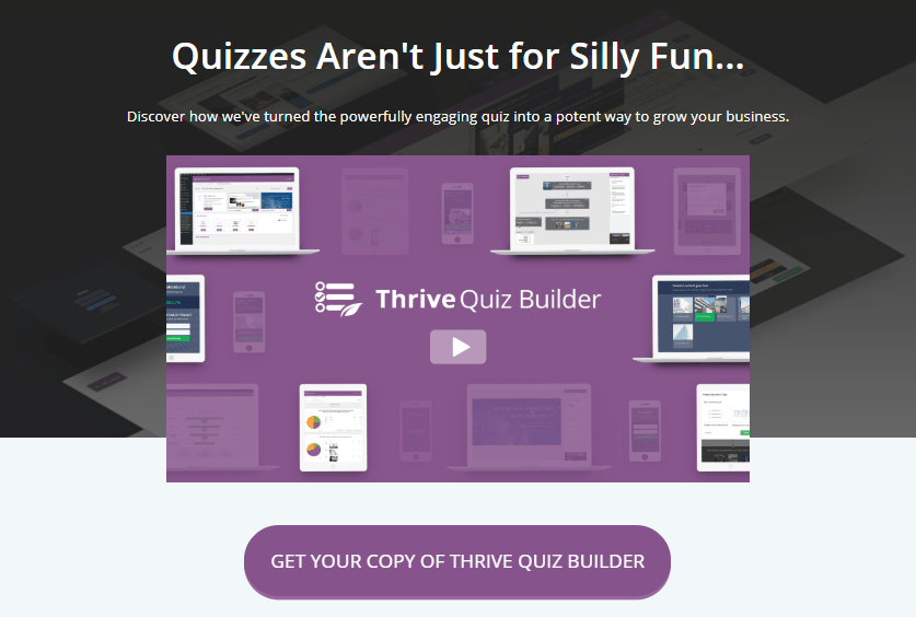 Buy Thrive Quiz Builder for $67