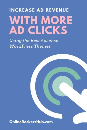 10 Best Adsense WordPress Themes to get more clicks in 2019 - Pinterest Image
