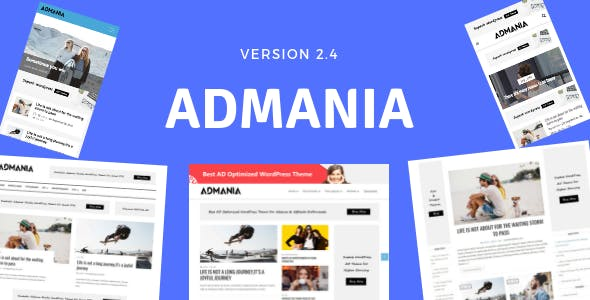 Admania WordPress Adsense Theme