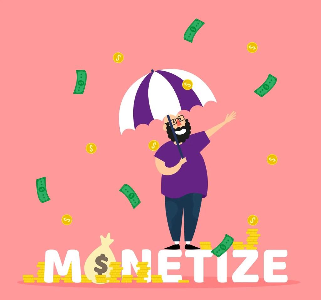 Monetize your WordPress website