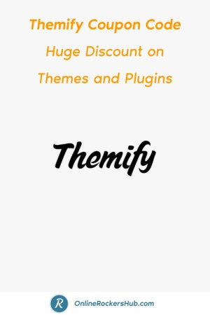 Themify Coupon Code Huge Discount on Themes and Plugins