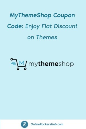 MyThemeShop Coupon Code_ Enjoy Flat Discount on Themes - Pinterest Image