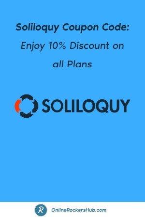 Soliloquy Coupon Code_ Enjoy 10% Discount on all Plans - Pinterest Image