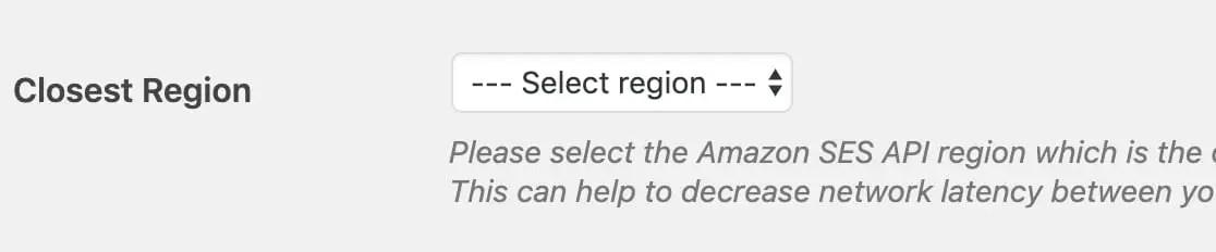 ses region