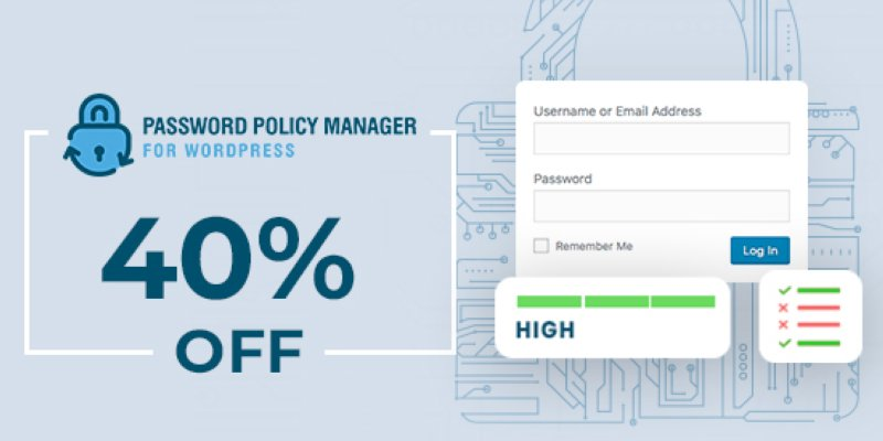 Password Policy Manager Black Friday Banner