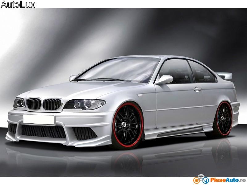 Body kit MX pentru BMW e46 din fibra de sticla - o porcarie