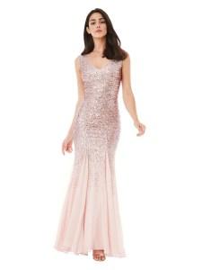 Rochie eleganta Alice Fashion Seara Lunga online reduceri dama rochii Paiete 01