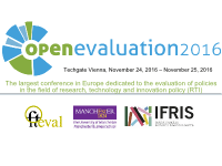 open evaluation 2016 Coference