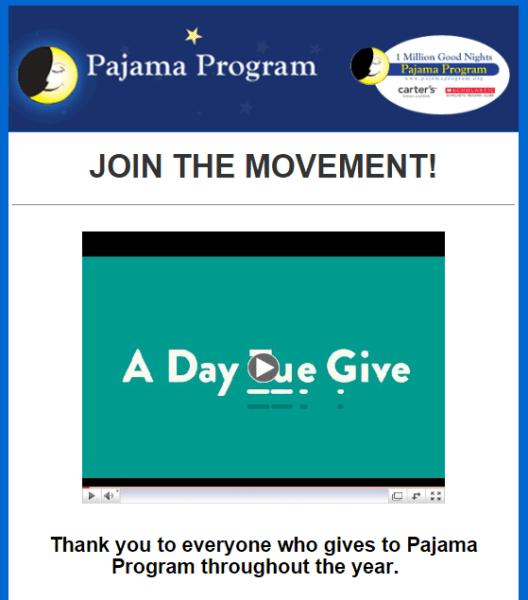 Pajama program