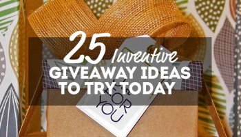 20 Clever Social Media Giveaway Ideas You Can Use Today | Online