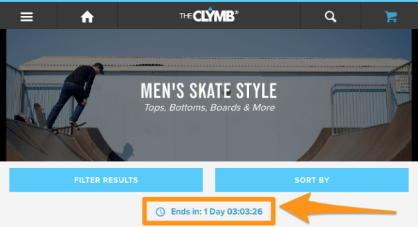 How to inject urgency into your product pages