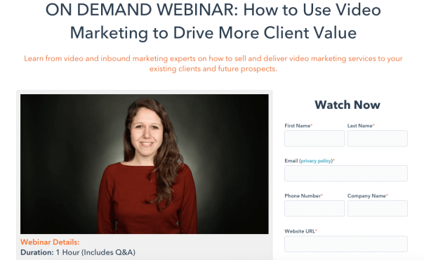 Marketing a Webinar with Cold Email