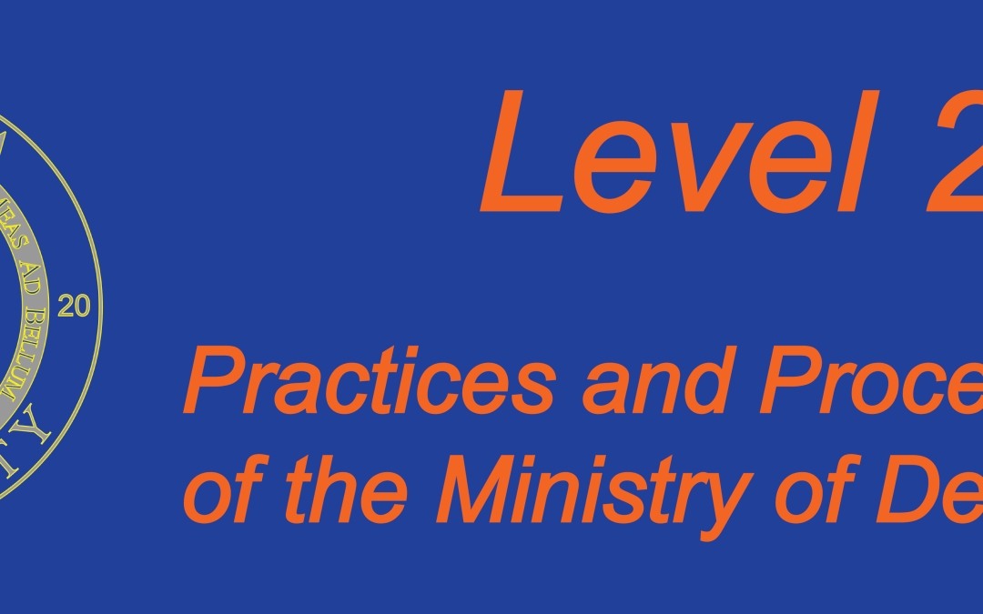 Practices and Procedures of the Ministry of Deliverence