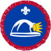 Caver badge