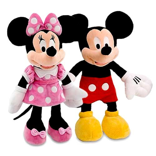 Mouse Girls Minnie Stuffed Backpacks