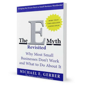 The e-myth by michael gerber - starting a business books