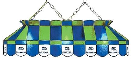 """Seattle Seahawks NFL Licensed 40"""" Rectangular Stained Glass Lamp from Imperial International"""