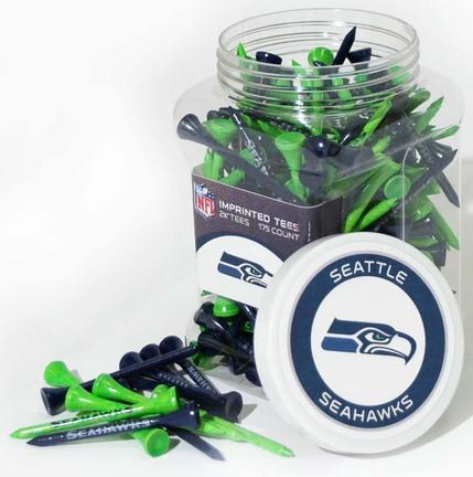 Jar of Seattle Seahawks Golf Tees (175 Tees)
