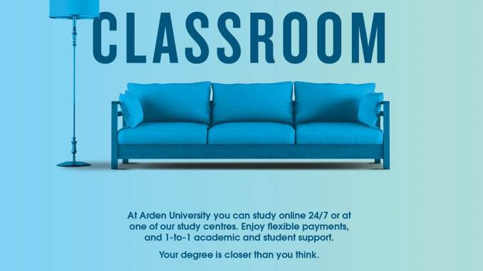 Online Programs; Arden University UK