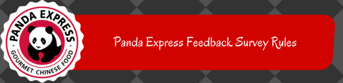 Panda Express Feedback Survey