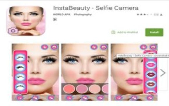 Instabeauty photo editor