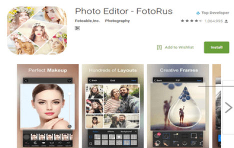 fotorus photo editor app