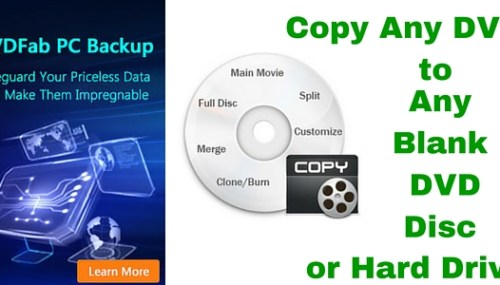 DVD Fab Blu-ray Copy Review – A Hassle-Free Blu-ray Backup Tool