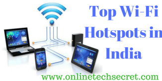 Top Wi-Fi Hotspots in India