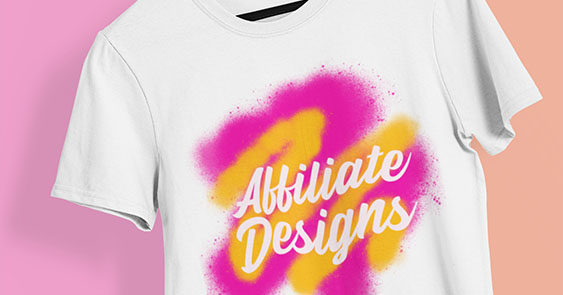 Online T Shirts Affiliate Designs
