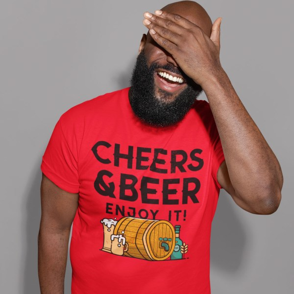 Cheers and Beers Men T Shirts