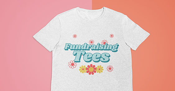 Online T Shirts Fundraising