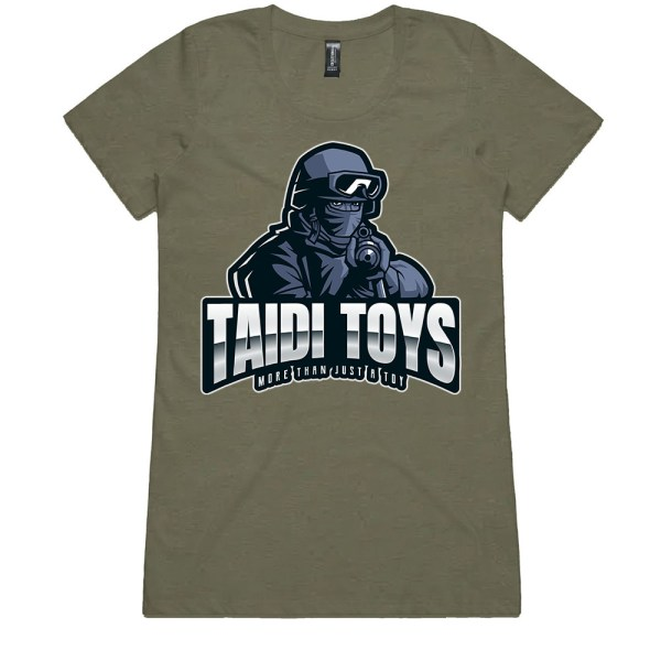 TAIDI More Than Just a Toy SOLDIER Ladies Army T Shirts
