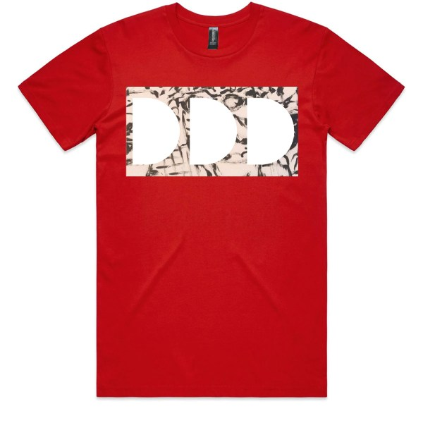 Dead Dirty Dinosaurs 009 Men Red T Shirts