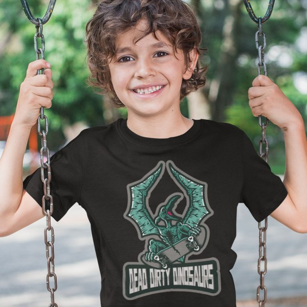 Dead Dirty Dinosaurs Pterodactyl Kids T Shirts