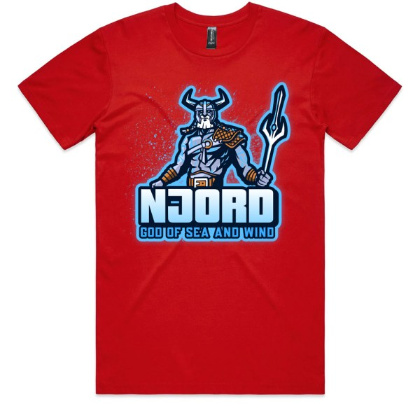 Njord God of Sea and Wind Men T Shirts