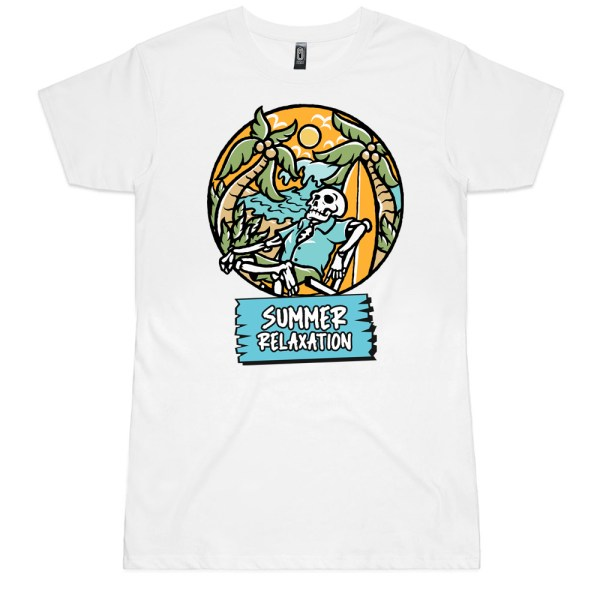 Summer Relaxation Ladies T Shirts