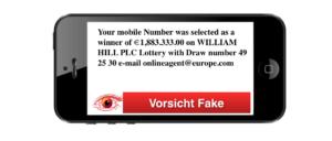 2018-08-20 SMS Gewinn William Hill Plc Lotterie
