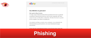 2019-02-19 ebay Phishing-Mail Fake Aktualisierung