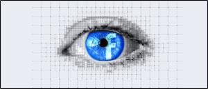 Symbolbild Facebook Auge