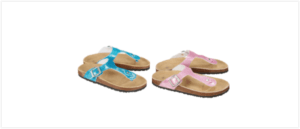 Rückruf KiK Mädchen Sandalen mit Glitzer