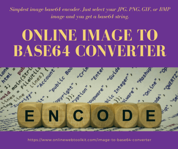 Online Image to Base64 Converter for HTML, Image and CSS ...