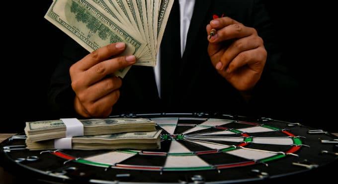 geld winnen met darts weddenschappen