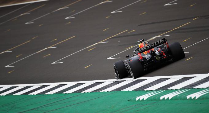 Eerste Formule 1 Sprintrace Tijdens GP Van Groot-Brittannië