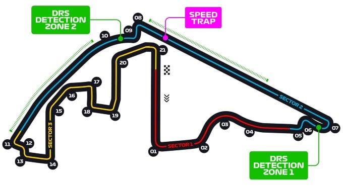 Circuit F1 GP Abu Dhabi
