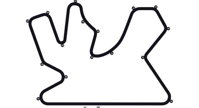 Circuit F1 GP Qatar
